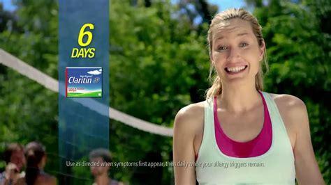 claritin commercial actress claritin non drowsy tv commercial volleyball ispot tv