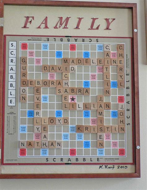 scrabble boards to buy best 25 family name ideas on family