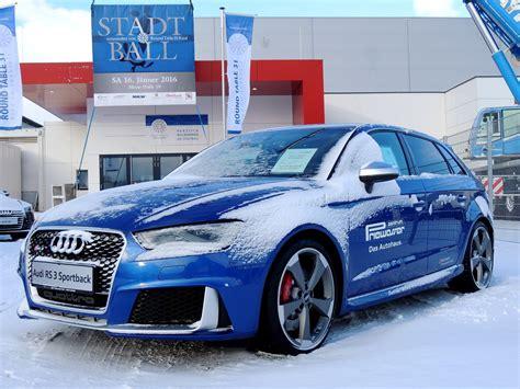 Audi Rs3 Leistung audi a3 rs3 sportback mit einer leistung 367ps und 4