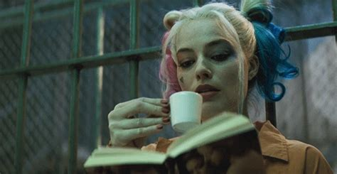 margot robbie harley quinn gif acotar inner circles reactions to books told in gifs