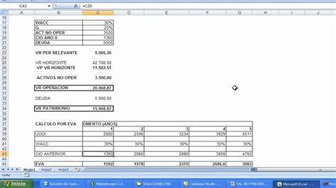 Tripod Lu Excell valoracion de empresas y flujo de caja libre facil