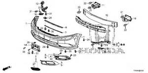 honda store 2012 civic front bumper parts