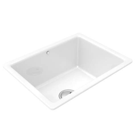 Large Ceramic Kitchen Sinks Abode Matrix Cr25 1 0 Large Bowl Ceramic Kitchen Sink Aw1009