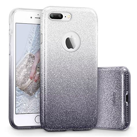 esr iphone 7 plus glitter sparkle bling three layer for shock absorption
