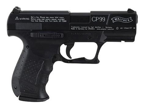 Airsoft Gun Walther Cp99 Walther Cp99 Air Pistol 177 Cal Pellet Blue Mpn 2252201
