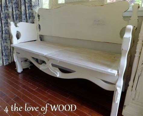 bench from headboard and footboard a bench made from a headboard footboard kristy can do