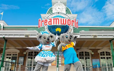 dreams and themes gold coast dreamworld theme park gold coast queensland australia