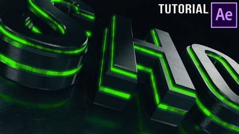 tutorial logo 3d after effects 190 best ae effect plugin element 3d images on pinterest