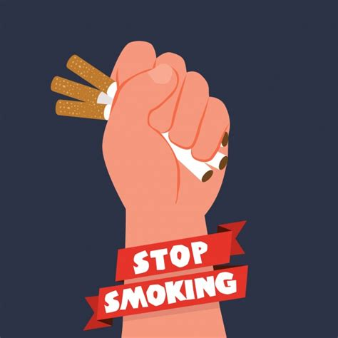 anti tobacco day background vector free