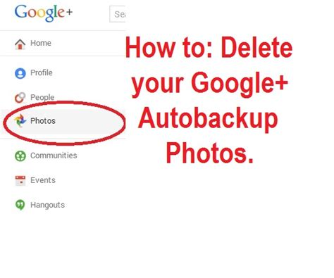 Google Auto Backup Photo Delete how can i delete my google autobackup photos