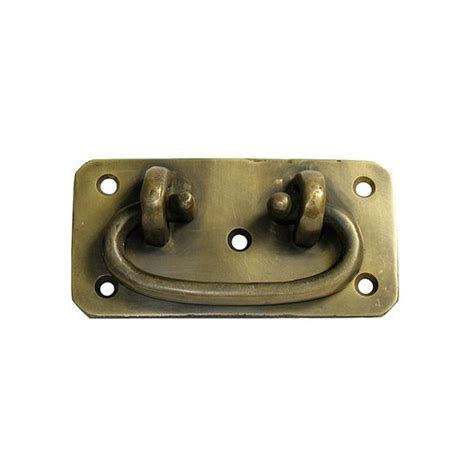 Unlacquered Brass Cabinet Hardware by Gado Gado Bail Pulls 2 3 8 Inch Center To Center
