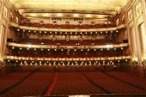 chicago opera house lyric opera of chicago chicago illinois this is the