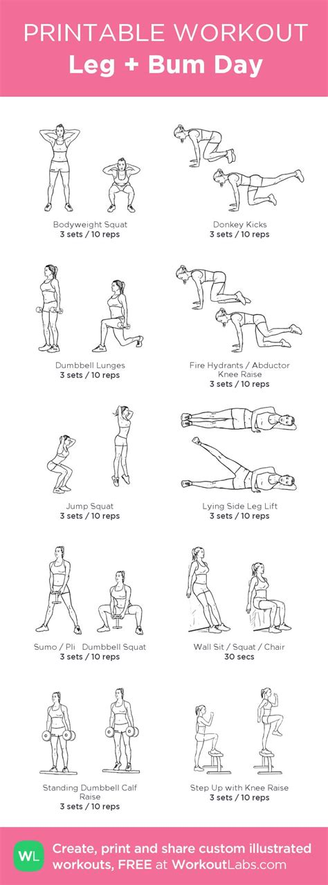 25 best ideas about leg workout on leg