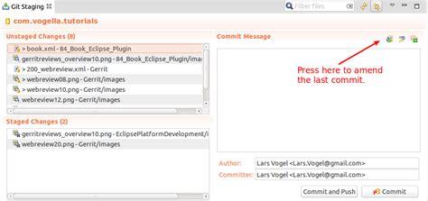 git tutorial amend gerrit code review tutorial