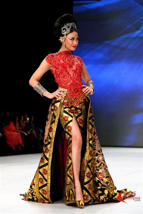 Dress Brokat Motif 3d living a beautiful avantie 2 avantie