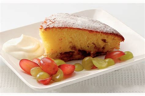 ah witte bloem cake met verse druiven en cr 232 me fra 238 che recept