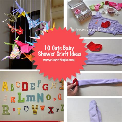 baby shower craft projects 10 baby shower craft ideas