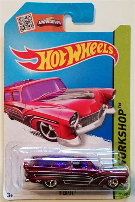 8 Crate Hotwheels Hw 2015 225 Merah Ford Ranch Wagon Die Cast 8 crate model cars hobbydb