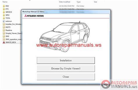 car maintenance manuals 2007 mitsubishi outlander security system mitsubishi outlander 2013 service manual auto repair manual forum heavy equipment forums