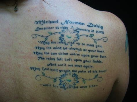 tattoo quotes for remembering a loved one remembrance quotes for loved ones quotesgram