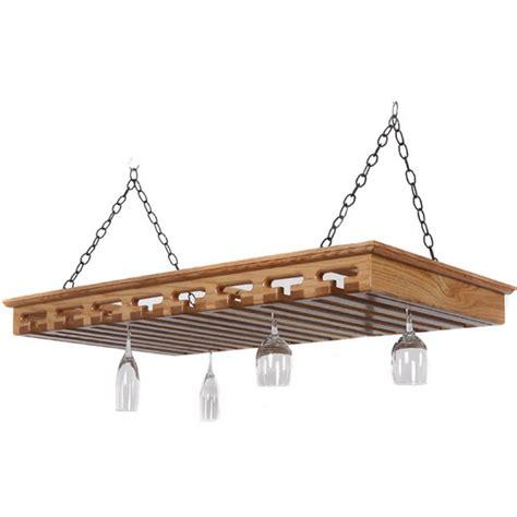 Hanging Stemware Rack by Stemware Racks 40 Glass Hanging Solid Oak Stemware