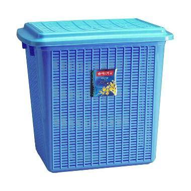 Keranjang Baju Kotor Plastik jual large biru stock basket harga kualitas terjamin blibli