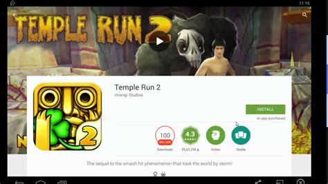 install temple run 2 how install temple run 2 android on windows pc
