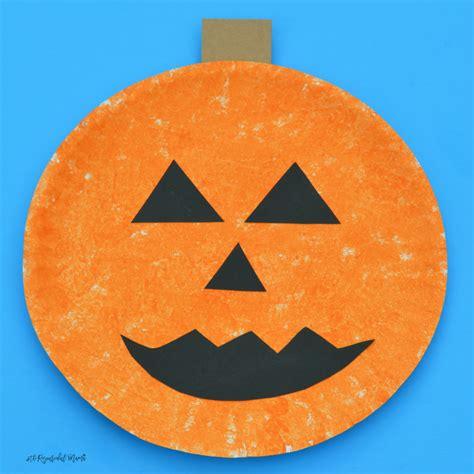 pumpkin crafts for sponge painted pumpkin craft the resourceful