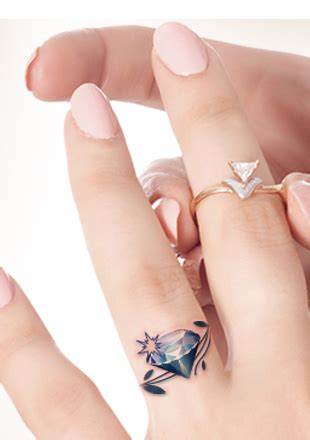 tattoo on finger meaning crown tattoo on finger meaning diamond tattoo on ring
