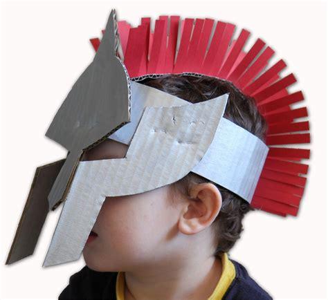 gladiator helmet fun family crafts