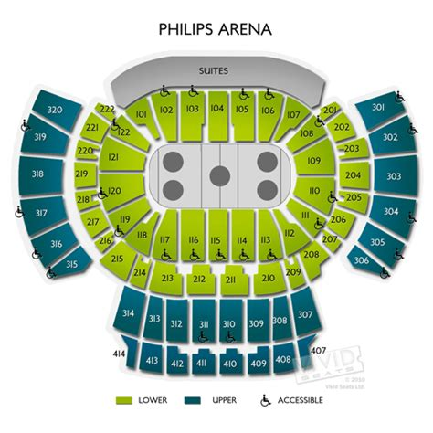 philips arena floor plan philips arena tickets philips arena information