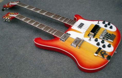 Jpin Neck Gitar Bass neck ricken electric bass guitar cherry burst color neck electric guitar