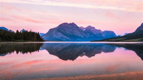 wallpaper saint mary lake glacier national park