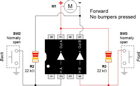back and forth motor robot schematic animated gif robot room