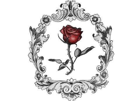 victorian rose tattoo by krisphero on deviantart