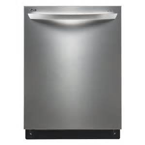 Lowes Stainless Steel Dishwasher Lg Ldf7774st Built In Dishwasher Stainless Steel 44