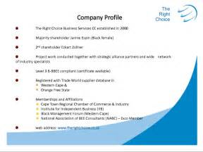 Business Profile Template Download Doc 691208 Construction Company Profile Templates In