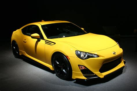 scion frs 1 0 new york 2014 2015 scion fr s release series 1 0 unveiled