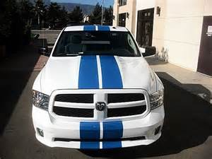 Dodge Ram 1500 Racing Stripes Dodge Ram 1500 Truck Mopar 11 Racing Stripes Decals Trunk
