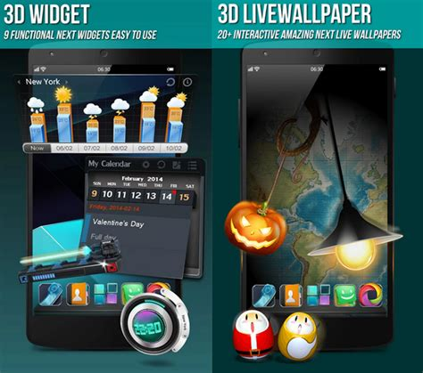 next launcher latest full version apk next launcher 3d shell pro apk v3 7 3 2 full version