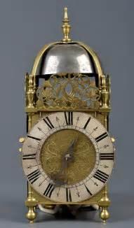 rare  century brass lantern clock  jonas barber ratcliffe cross london circa