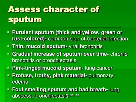 color of sputum the gallery for gt bronchitis sputum color