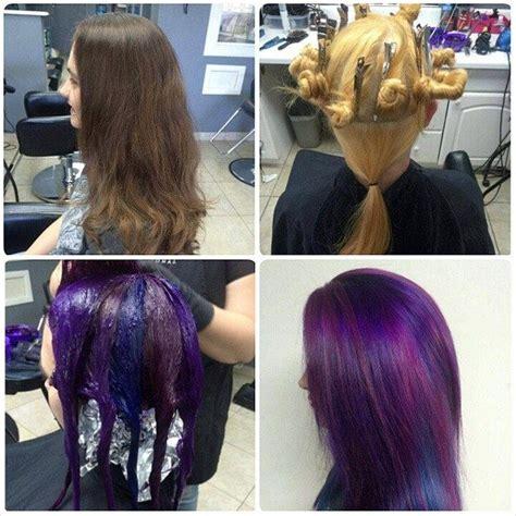foil placement for purple bangs 16414442044 62df8151e7 z jpg 640 215 640 hair i love