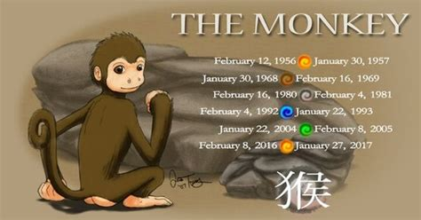 born in the year of the monkey the monkey chinese
