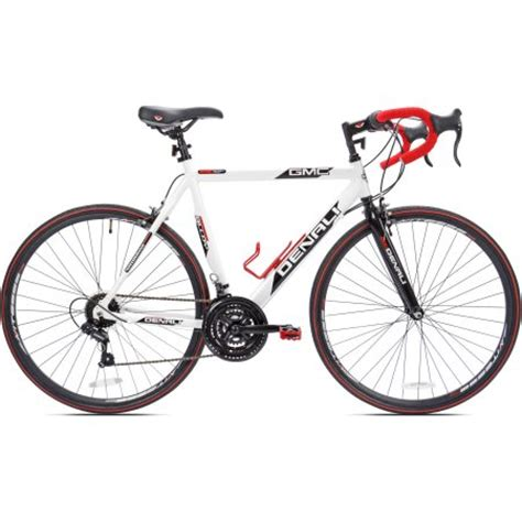 gmc denali 700c road bike review 22 5 quot gmc denali 700cc s bike white walmart