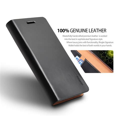 Rearth Ringke Signature Samsung Galaxy Note 7 Navy ringke signature handcrafted leather wallet for lg g5 zoarah