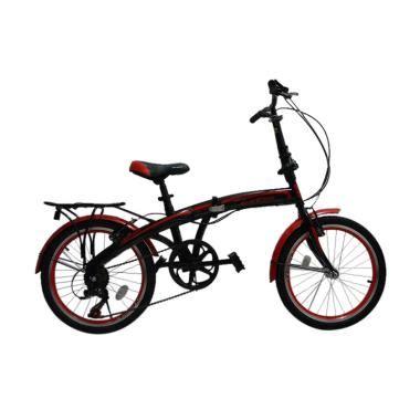 Kualitas Terjamin Sepeda Lipat Anak Evergreen 16 jual evergreen folding bike sepeda lipat black 20 inch harga kualitas terjamin