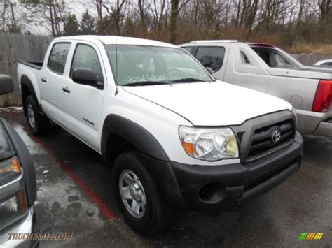 Toyota Tacoma V6 For Sale 2007 Toyota Tacoma V6 Prerunner Cab In White