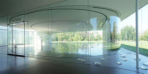 glass pavilion sanaa glass pavilion at the toledo museum of art ohio