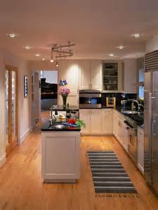 Narrow Kitchen Design With Island 22 Stylish Narrow Kitchen Ideas Godfather Style